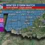 Winter Storm Watch Issued Through Sunday Morning
