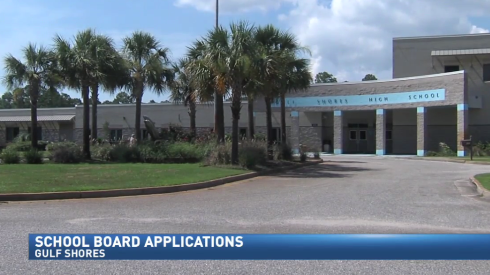 Applicants line up to join Gulf Shores school board | WPMI