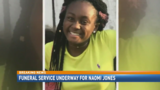 Family and friends lay Naomi Jones to rest