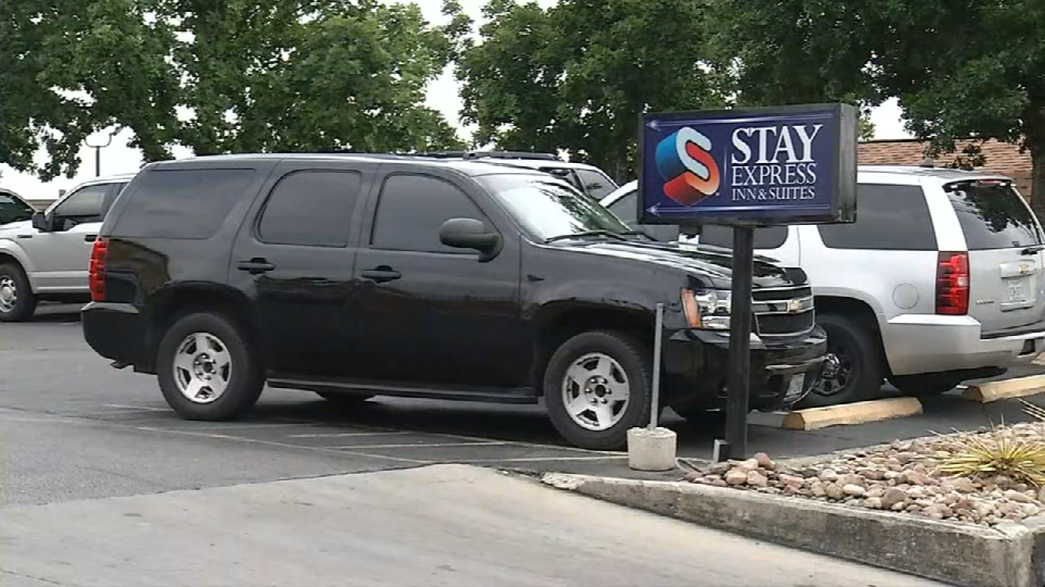 Raid at hotel on Wurzbach Road (Photo: SBG San Antonio)