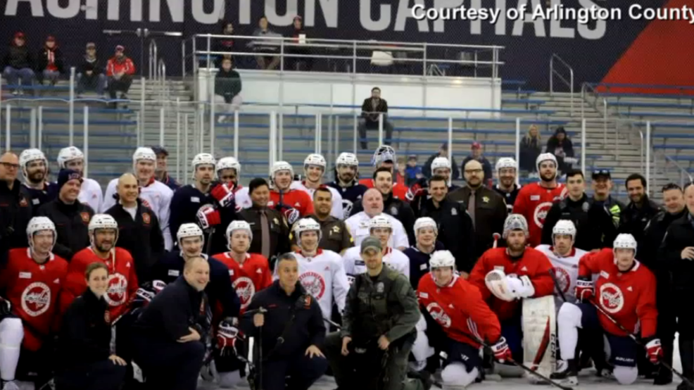 Giving back to local heroes: Caps to host first responders at special team practice
