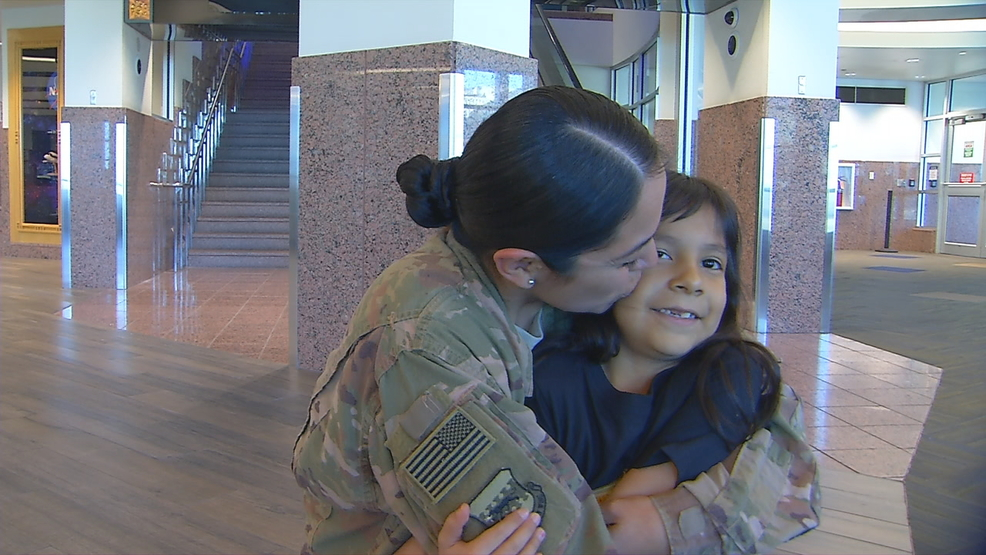 Fort Bliss soldier returns from deployment | KFOX