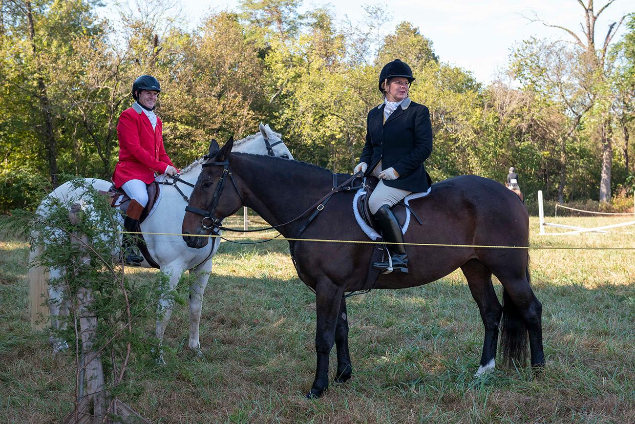 A pair of dapper outfits from the Camargo Hunter Trials / Image: Joe Simon // Published: 11.1.19