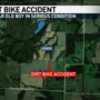 Northeast Missouri boy in serious condition after dirt bike accident