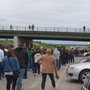 Video break down: Chaos at Lakeview Amphitheater: Fans face long lines, run across I-690