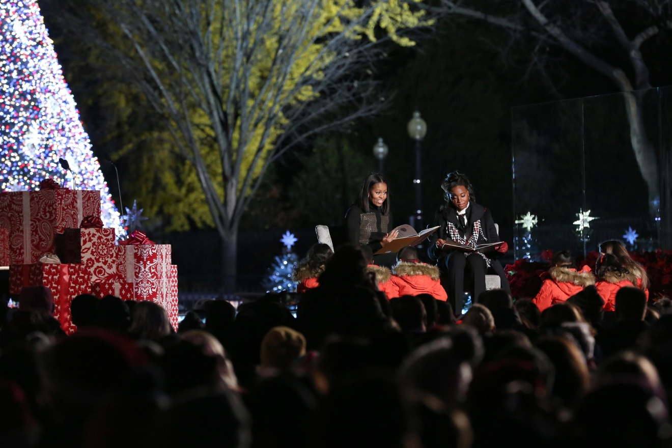 National Christmas Tree Lighting (Amanda Andrade-Rhoades/DC Refined)