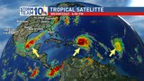 StormTeam10: 3 Hurricanes in the Atlantic now