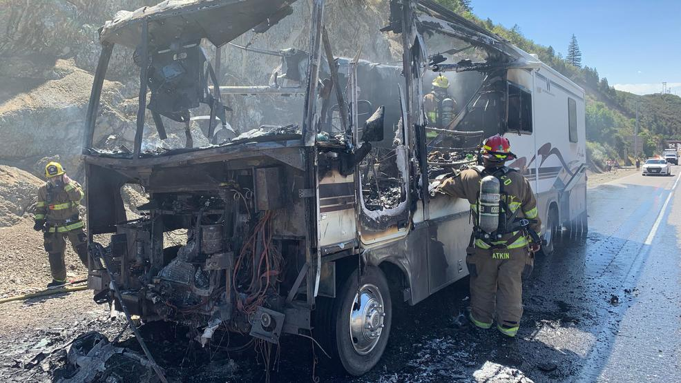 Pay attention,' troopers warn after car hits firetruck on