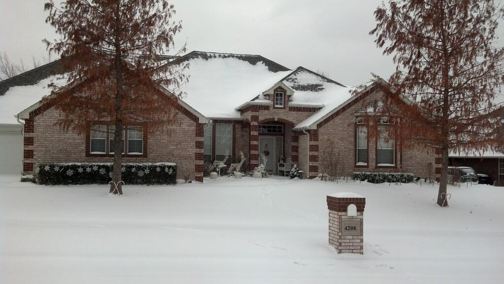 FOX 25 Meteorologist Jon Slater says he got 5 inches at his home in NW Oklahoma City