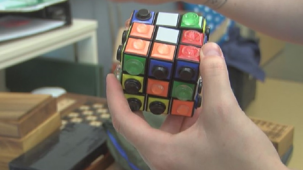 Visually Impaired And Blind Students Test Modified Tactile Games