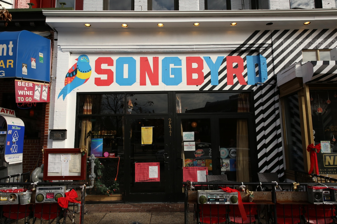 Okay, hear us out on this one. Sonbyrd, a music venue, bar, coffeehouse and record store in Adams Morgan may not be an obvious place for a proposal, but if you and your loved one have bonded over music then you should check out their booth, where you can record a 3-minute record. (Amanda Andrade-Rhoades/DC Refined)