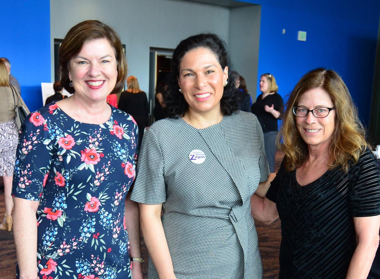 Molly Leonard, Judge Marilyn Zayas, and Margie Slagle / Image: Leah Zipperstein, Cincinnati Refined // Published: 5.10.18