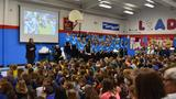 WVU President Gee visits Pinch Elementary School to serve as guest speaker