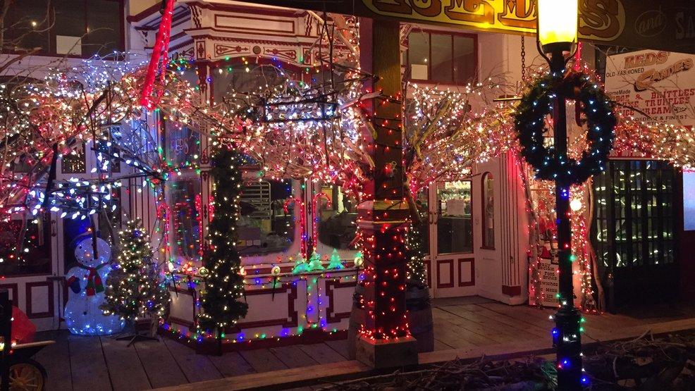comstock street christmas lights gilbert az