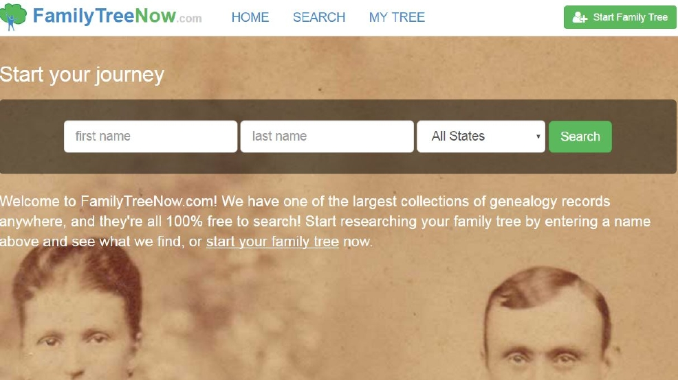 FamilyTreeNow com website reveals scary amount of personal address