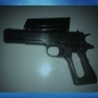 Police seize loaded gun during probation search