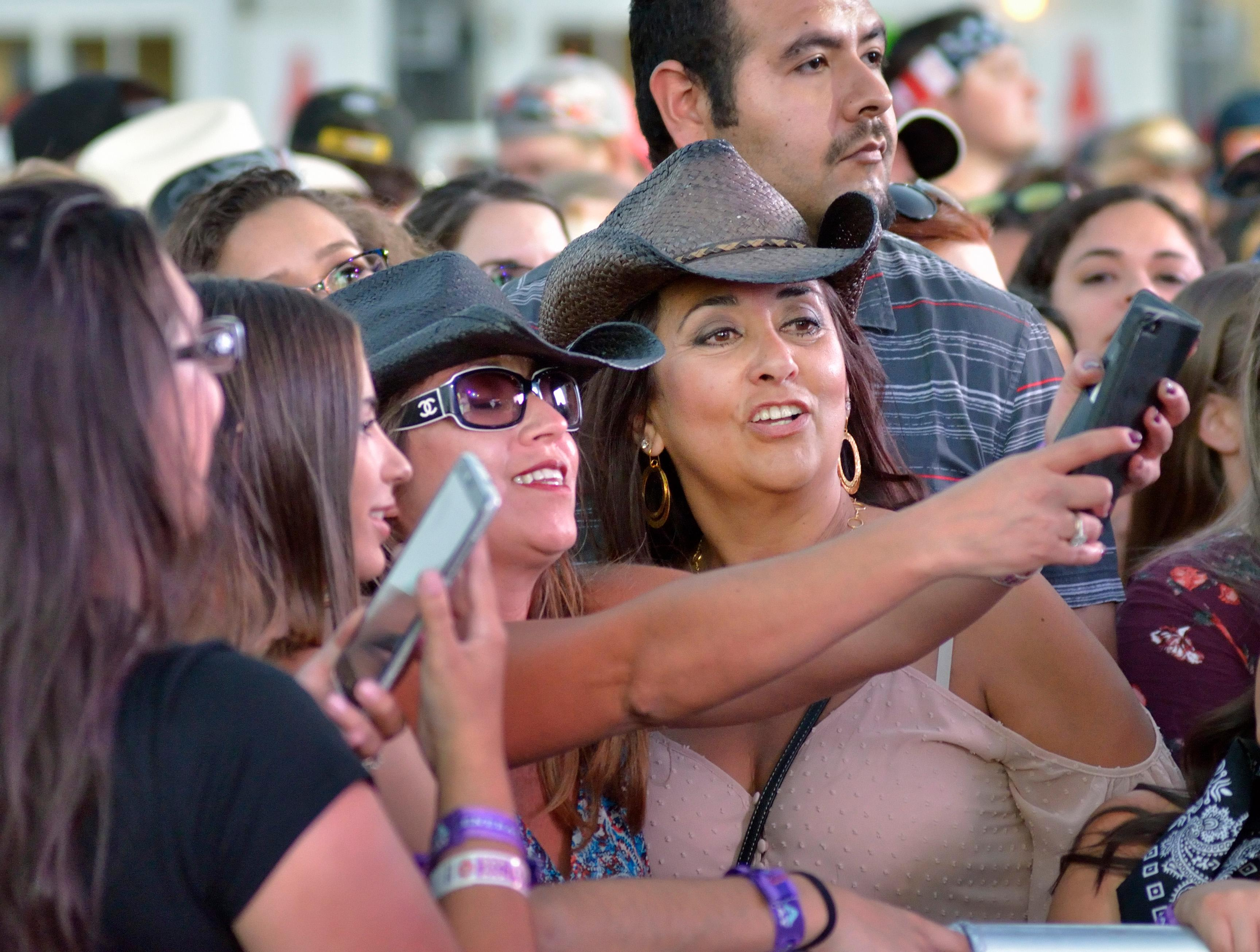 Attendees are shown the Route 91 Harvest festival on Las Vegas Boulevard South in Las Vegas on Saturday, Sept. 30, 2017.  [Bill Hughes/Las Vegas News Bureau]