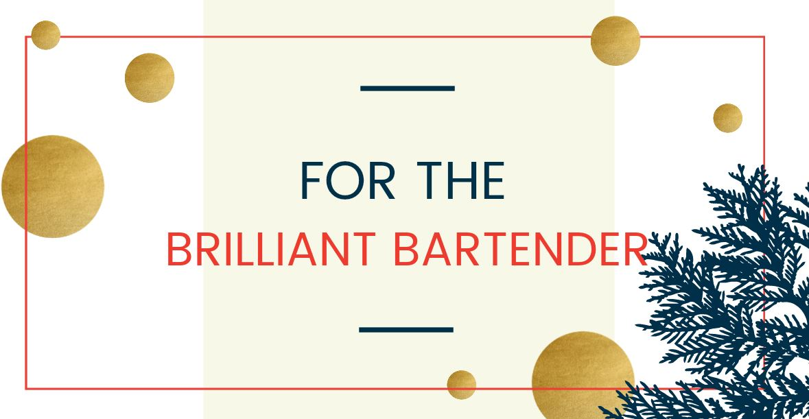For the Brilliant Bartender (DC Refined)<p></p>