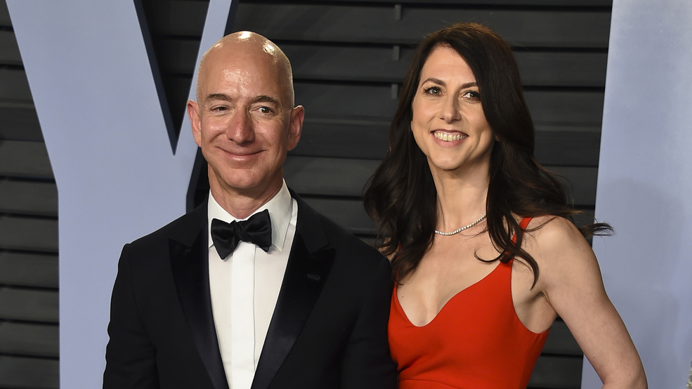 Amazon Ceo Jeff Bezos And Wife Mackenzie Announce Their Divorce Wztv