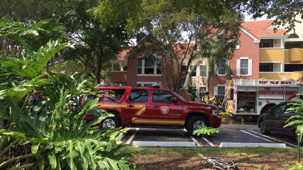 Dog Killed In Apartment Fire In West Palm Beach Wpec