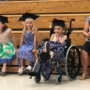 5-year-old who lost foot in lawnmower accident graduates from kindergarten