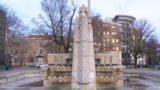Work begins Monday to remove the controversial Fountain of the Pioneers in Kalamazoo