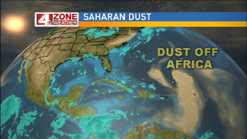 African Dust Causing Problems For Allergy And Asthma