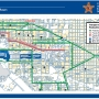 Stay up to date on the walking routes for the Inauguration