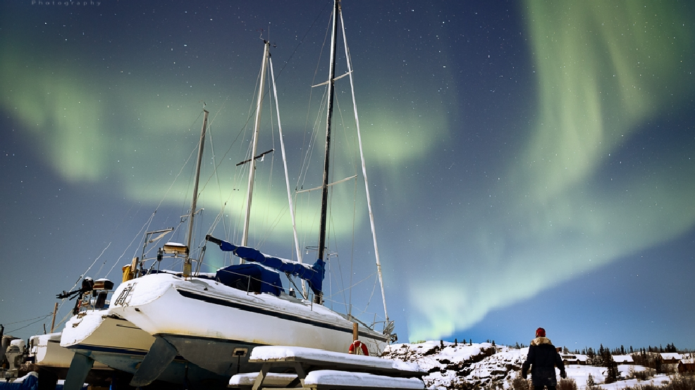Photos: Stunning views of the Northern Lights from northern Canada