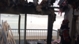 Lightning strike sparks fire at Lincoln Beach condo