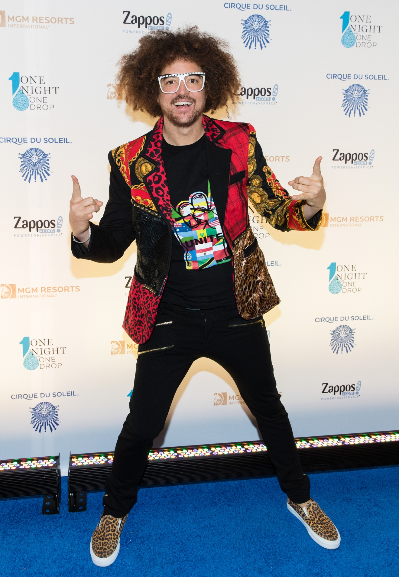 Redfoo at One Night for One Drop 2017. (Photo courtesy of Erik Kabik/ErikKabik.com)