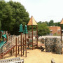 Playgrounds reach temperatures that could melt your child's skin in the summer