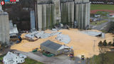 10,000 tons of corn spilled after silo collapse in New Carlisle, Ohio