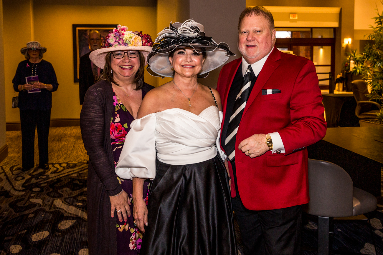 Tracey Berry with Donna and Dennis Speigel / Image: Catherine Viox