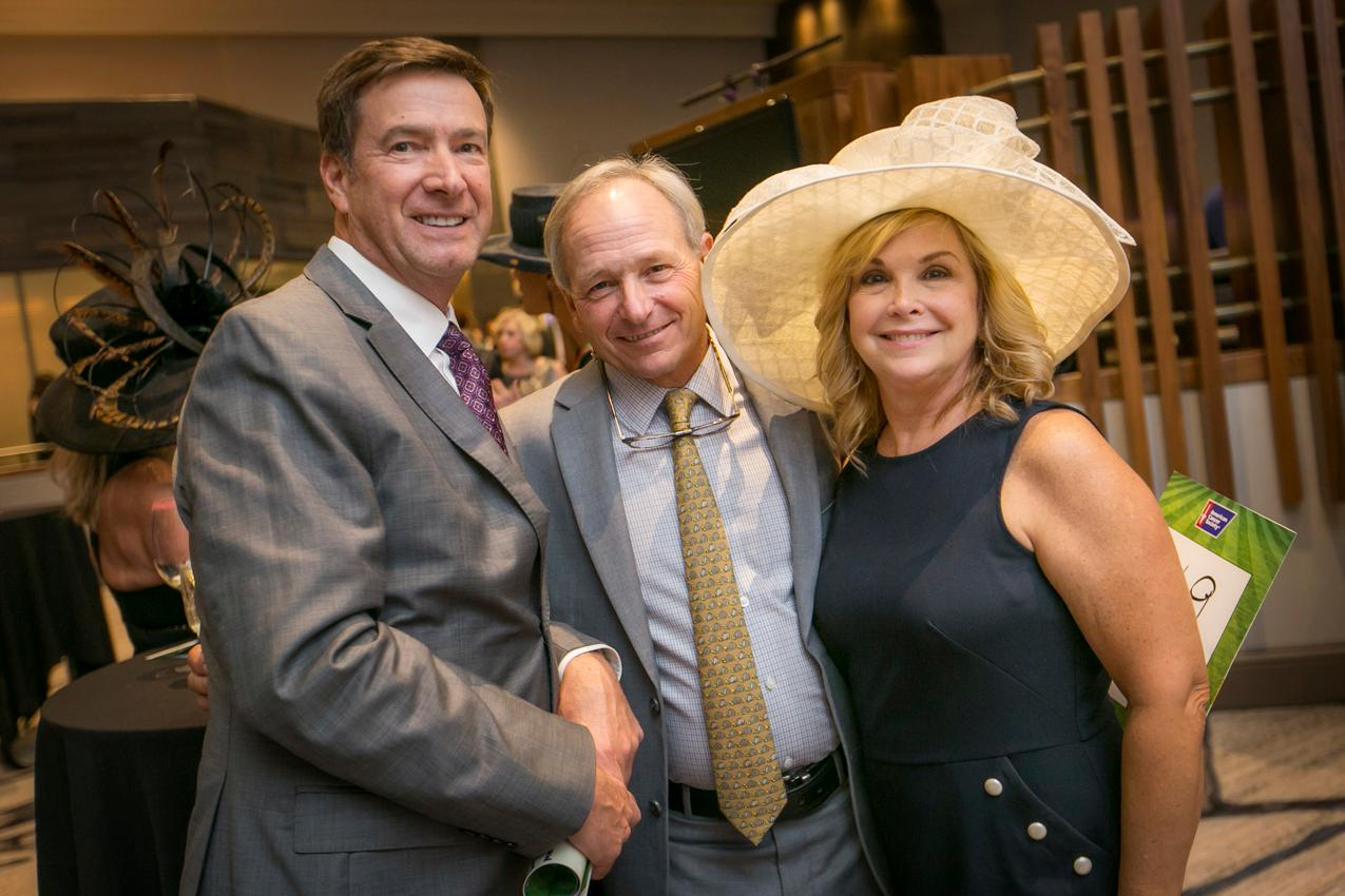 John Maddox, Steve Cauthen, and Linda Maddox{ }/ Image: Mike Bresnen Photography // Published: 10.14.18