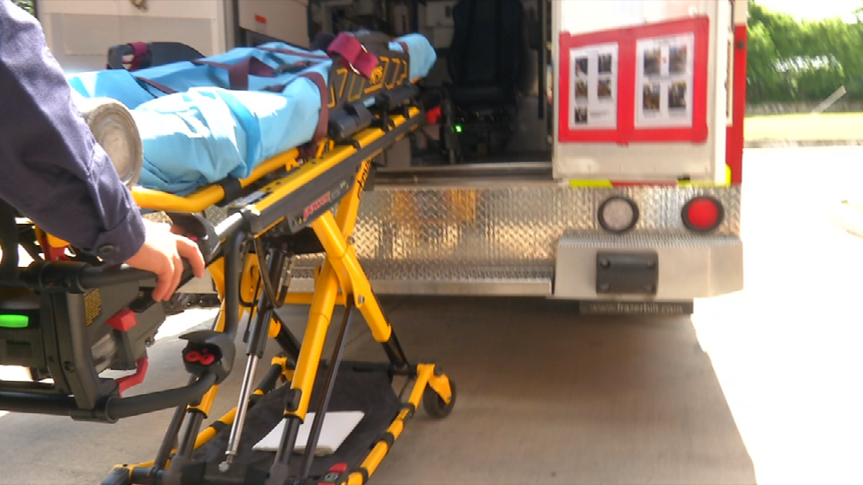 Sometimes the Paramedics need to take things out of their hands, this automated stretcher can load a person up to 700 pounds. Albright said this stretcher &quot;Takes away almost any chance of human error when loading a patient.&quot;<p></p>