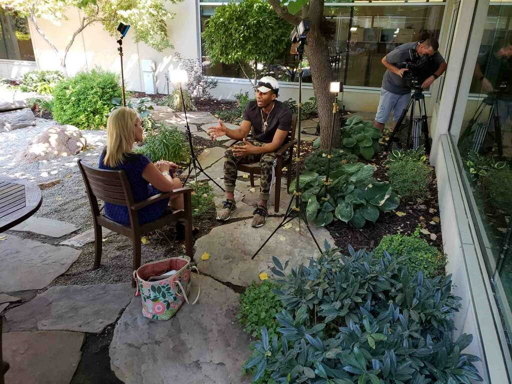Utah Jazz Guard Donovan Mitchell sits down with 2News Anchor Shauna Lake for an interview you won't hear anywhere else about his childhood, charity work and all-star NBA fame. (Photo: KUTV)
