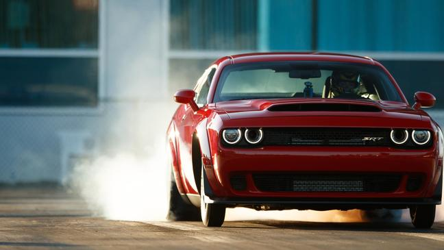 Here's Why Gearheads Are Freaking Out About the 2018 Dodge Challenger Demon