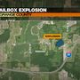 LaGrange County mailbox destroyed in explosion