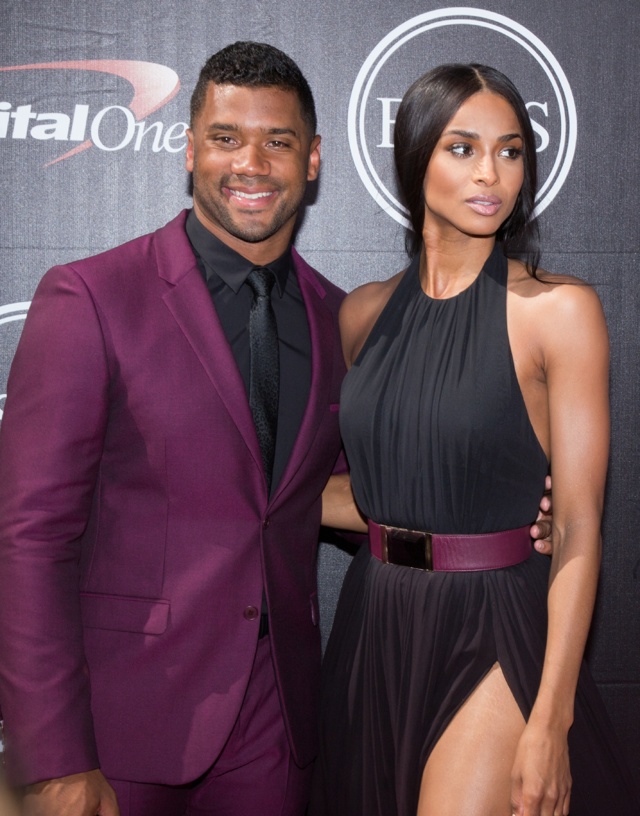 ESPYS 2015 red carpet - Arrivals                                    Featuring: Russell Wilson, ciara                  Where: Hollywood, California, United States                  When: 16 Jul 2015                  Credit: La Niece/WENN.com