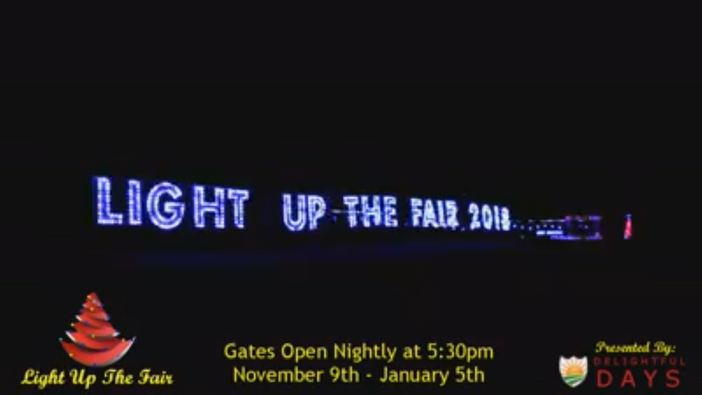 light up the fair to bring a drive through holiday display to northern kentucky - Local Christmas Light Shows