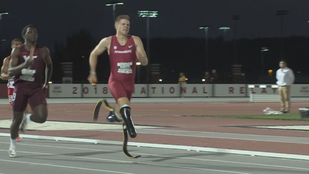 Beyond the Game: Arkansas double amputee sprinter 'shows people
