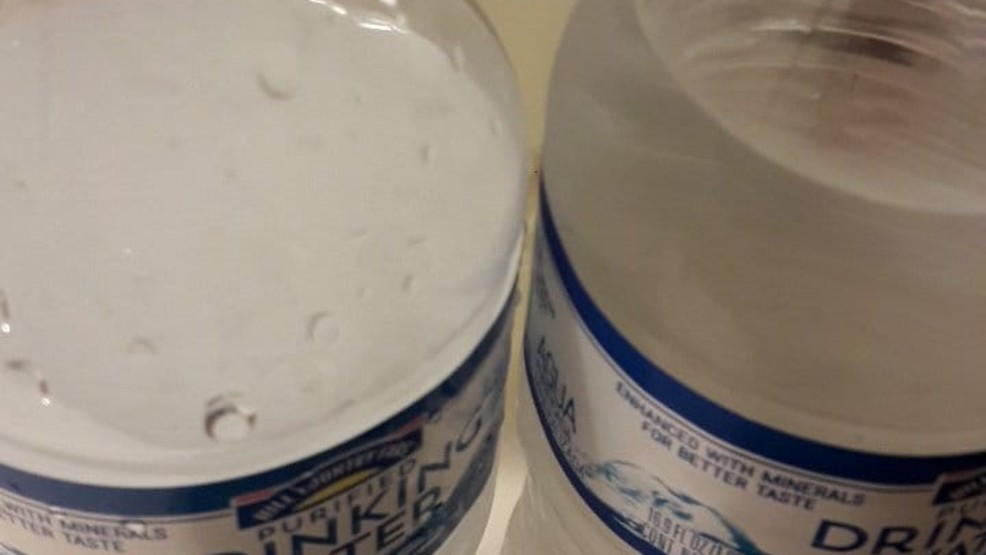 Viewer concerned about cloudy water wants to know if it\'s safe to ...