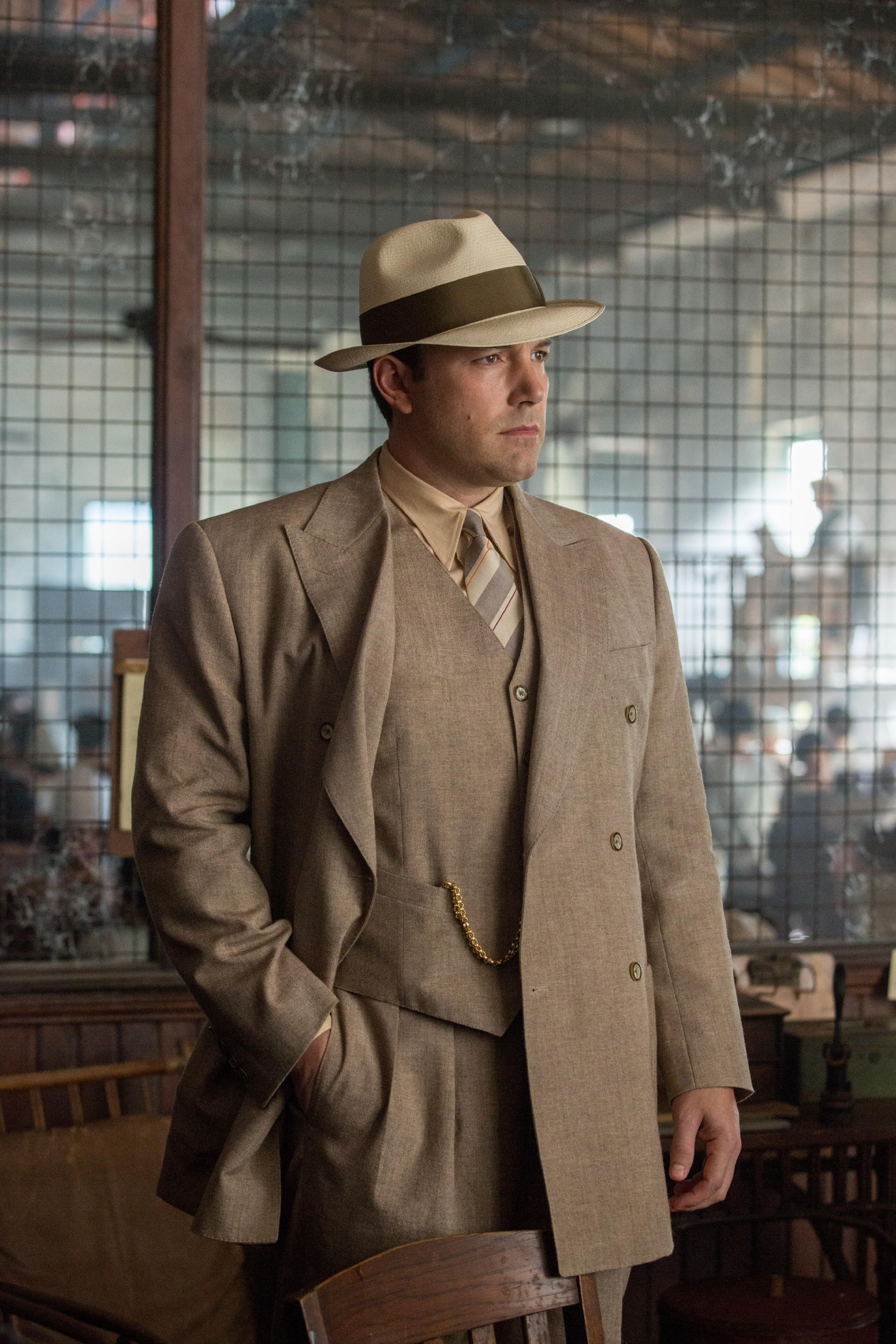 "Ben Affleck in Warner Bros. Pictures' ""Live by Night.""  (Photo: Claire Folger)"