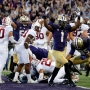 No. 10 Huskies make emphatic statement in dominating No. 7 Stanford 44-6