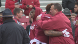 Fitzgerald helps No. 17 Mississippi State survive Arkansas