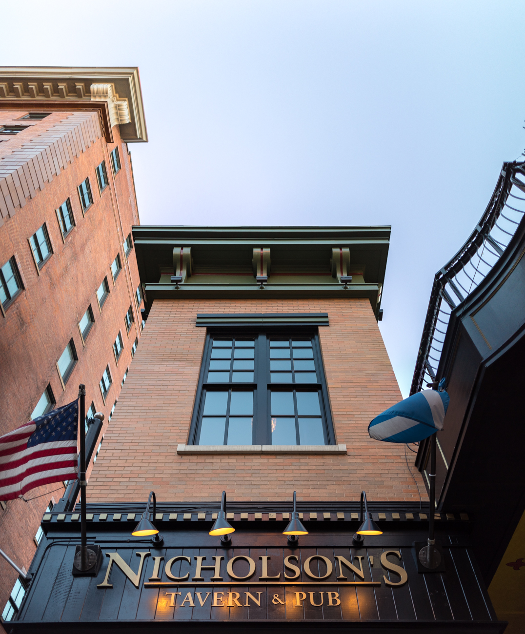 Stop #3 on the Cincinnati Streetcar Food Tour is Nicholson's Tavern & Pub, located at 625 Walnut Street. / Image: Phil Armstrong, Cincinnati Refined // Published: 1.3.17
