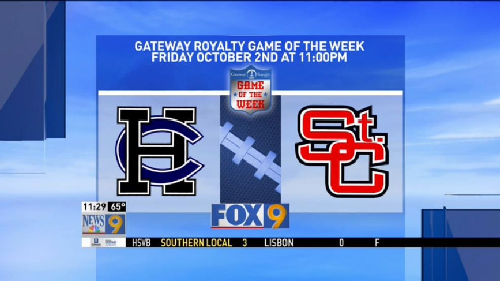 Week 6 Game of the Week Harrison Central at St. Clairsville