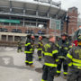 Man dead of burn injuries after Porta Potty fire at M&T Bank Stadium