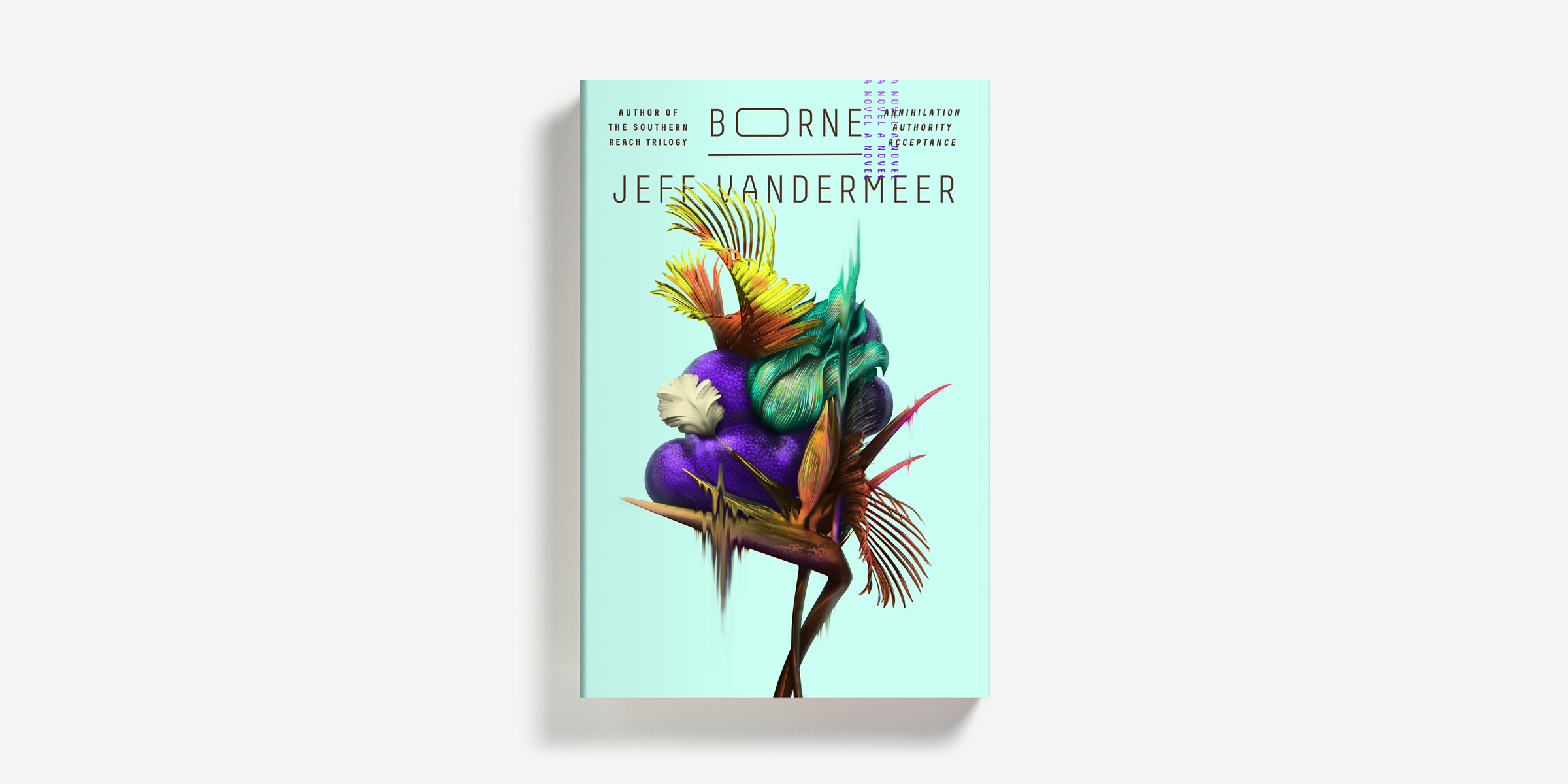 "#10. Borne by Jeff Vandermeer. """"Am I a person?"" Borne asks Rachel, in extremis. ""Yes, you are a person,"" Rachel tells him. ""But like a person, you can be a weapon, too."" In a ruined, nameless city of the future, Rachel makes her living as a scavenger."" (Image: MCD)"